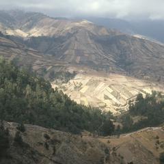 Wheat fields above Nahuala