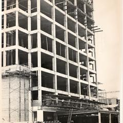Engineering Research building under construction