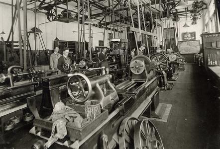 School of Industrial Technology machine shop