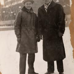 Hockey coaches Johnny Farquhar and Spike Carlson