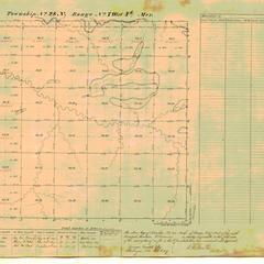 [Public Land Survey System map: Wisconsin Township 28 North, Range 07 West]