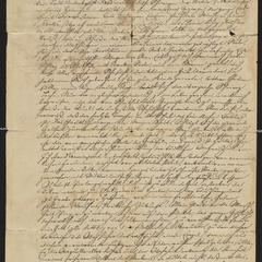 [Letter from Jakob Sternberger to Marie, February 9, 1851]