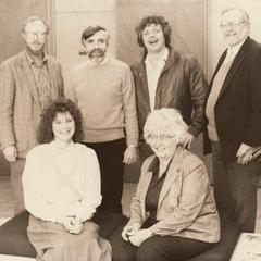 Members of the faculty, Manitowoc, February 1987