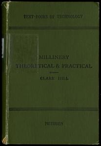 Millinery : theoretical and practical