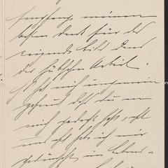 [Letter from Alle Sternberger to a cousin, Agnes Sternberger, January 8, 1902]