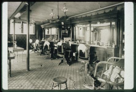 Unidentified barbershop