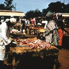 The Meat Section of the Main Zinder Market