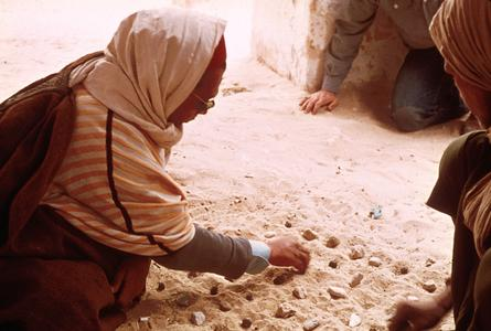 Game Played by Older Men in Douz