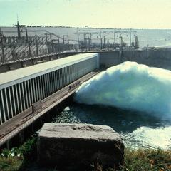 The High Dam in Nile River near Aswan