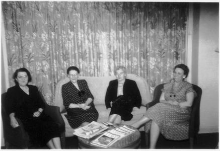 Helen Cramer, Hazel Manning, and Frances Zuill