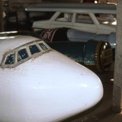 Replica of Air Canada Plane
