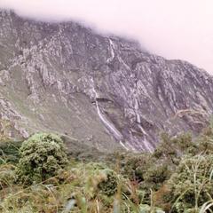 Vertical Slopes of Mt. Mlanje