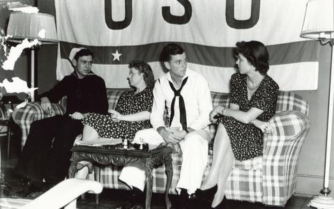 Chatter under the USO banner