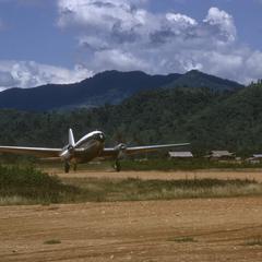 Curtiss C-46 Commando transport plane