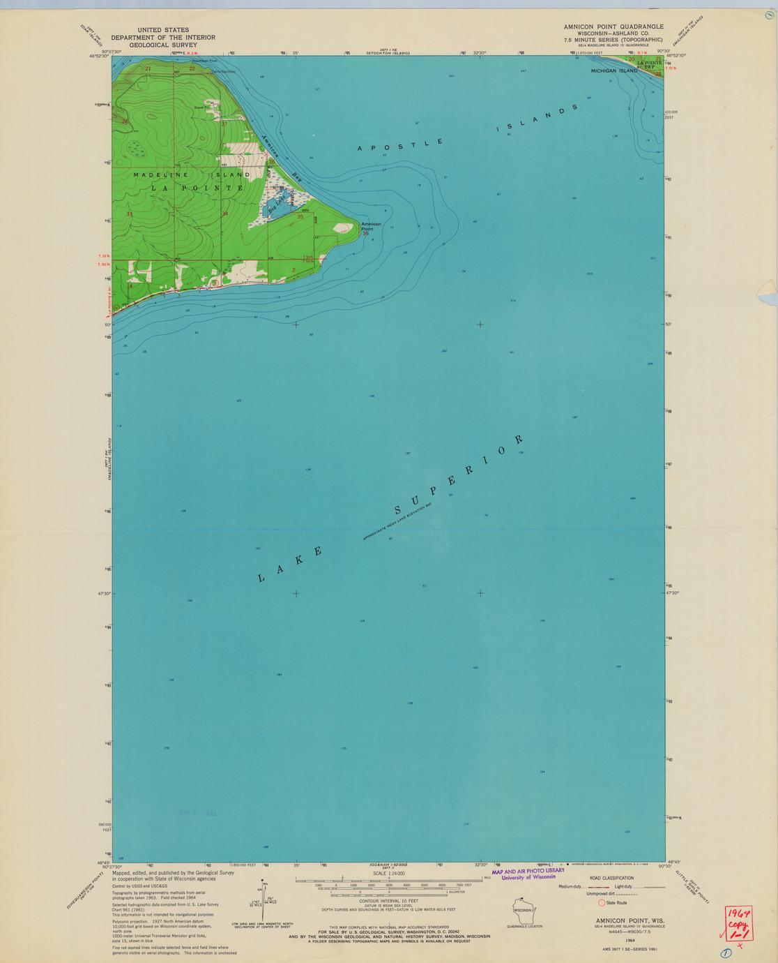 Amnicon Point quadrangle