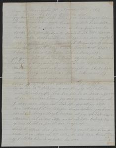[Letter in Danish from Tonnes Tollefsen to his father and brother, November 30, 1863]