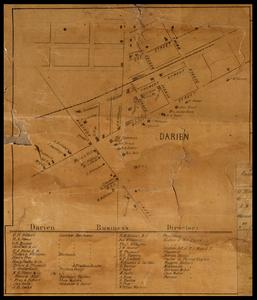 Darien business directory and map