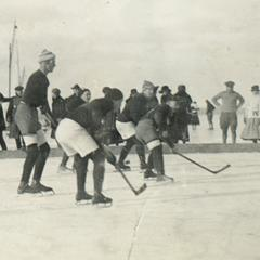 Hockey at the Ice Carnival