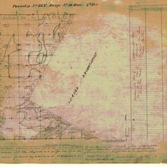 [Public Land Survey System map: Wisconsin Township 23 North, Range 18 East]