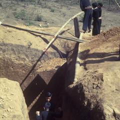 Digging a bunker