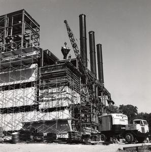Heating Plant under construction