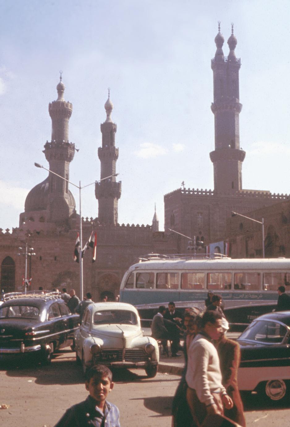 Minarets of Al-Azhar Mosque, Cairo