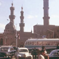 Minarets of Al-Azhar Mosque, Cairo