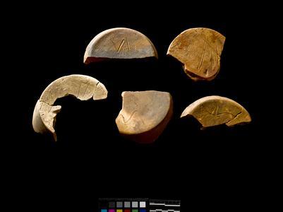 Crock fragments