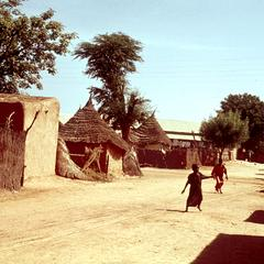 Street in Dagana in Northern Senegal