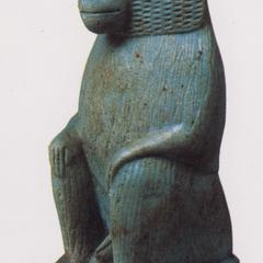 Egyptian Hamadryas Baboon Sculpture