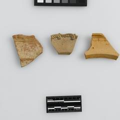 Dish or plate fragments