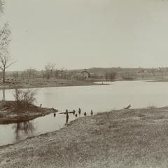 Hiram E. Hale's Mill Pond, New Berlin