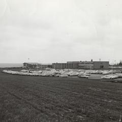 University of Wisconsin Extension--Manitowoc building, November 1964