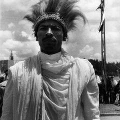 Oromo Man at Celebration