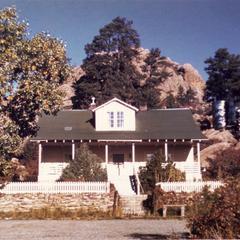 House built by Aldo and Estella at Tres Piedras