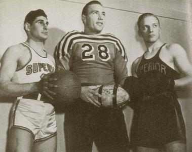 Team captains, early 1940s