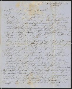 [Letter from Anton Klenert to Jakob Sternberger, June 5, 1853]