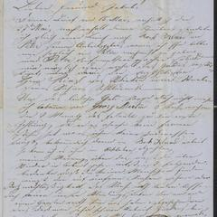 [Letter from Anton Klenert to Jakob Sternberger, June 5, 1853]