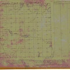 [Public Land Survey System map: Wisconsin Township 25 North, Range 03 East]