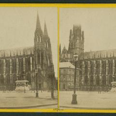 Rouen : l'Eglise St Ouen