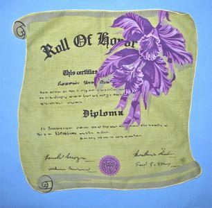 Diploma handkerchief