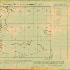 [Public Land Survey System map: Wisconsin Township 19 North, Range 05 East]