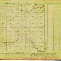 [Public Land Survey System map: Wisconsin Township 13 North, Range 02 East]