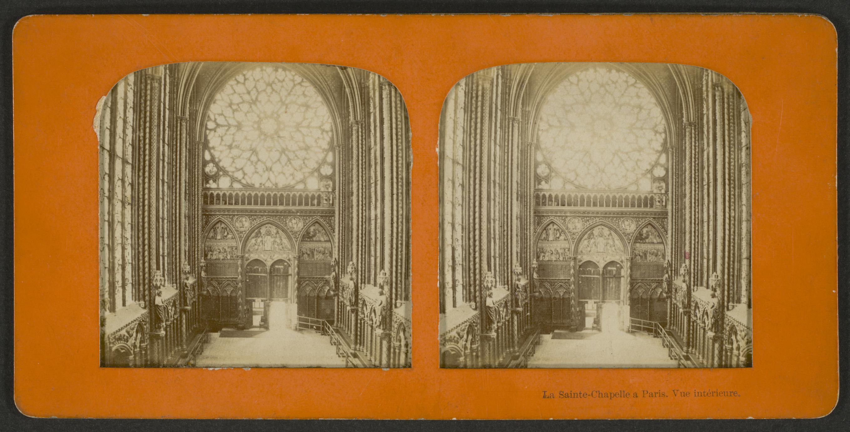 La Sainte-Chapelle à Paris : vue intérieure (1 of 3)