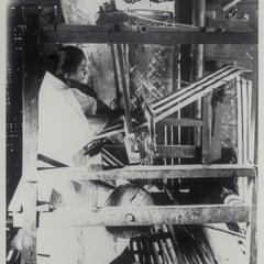 Woman weaving, Ilocos Norte, 1926