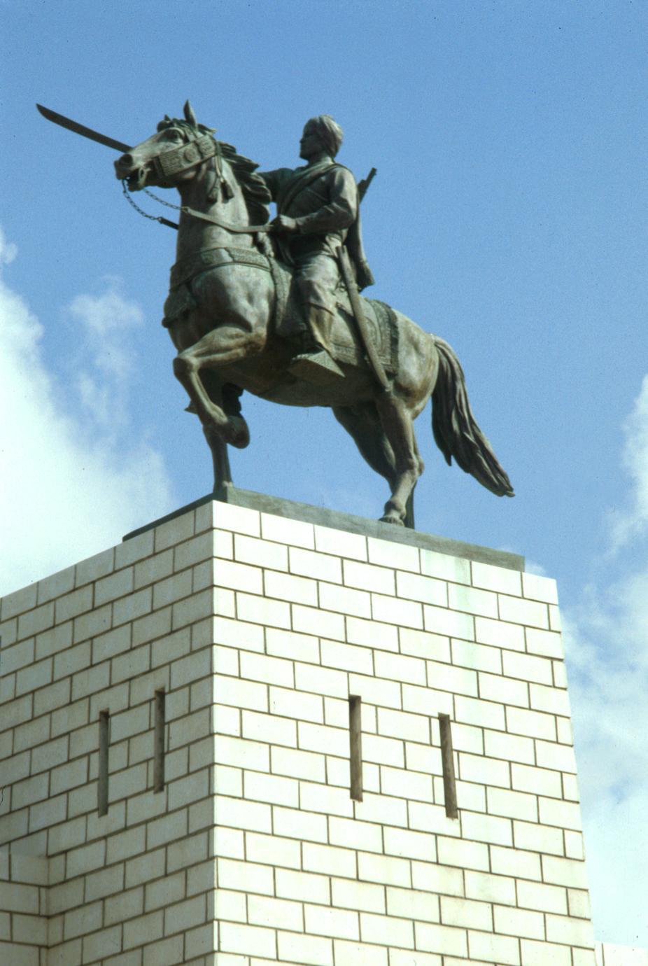 Statue of Somali Leader Mohammed Abdille Hassan