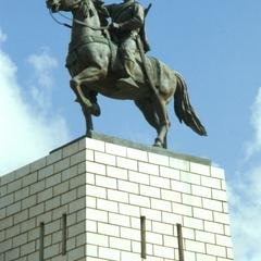 Statue of Somali Leader Mohammed Abdille Hassan