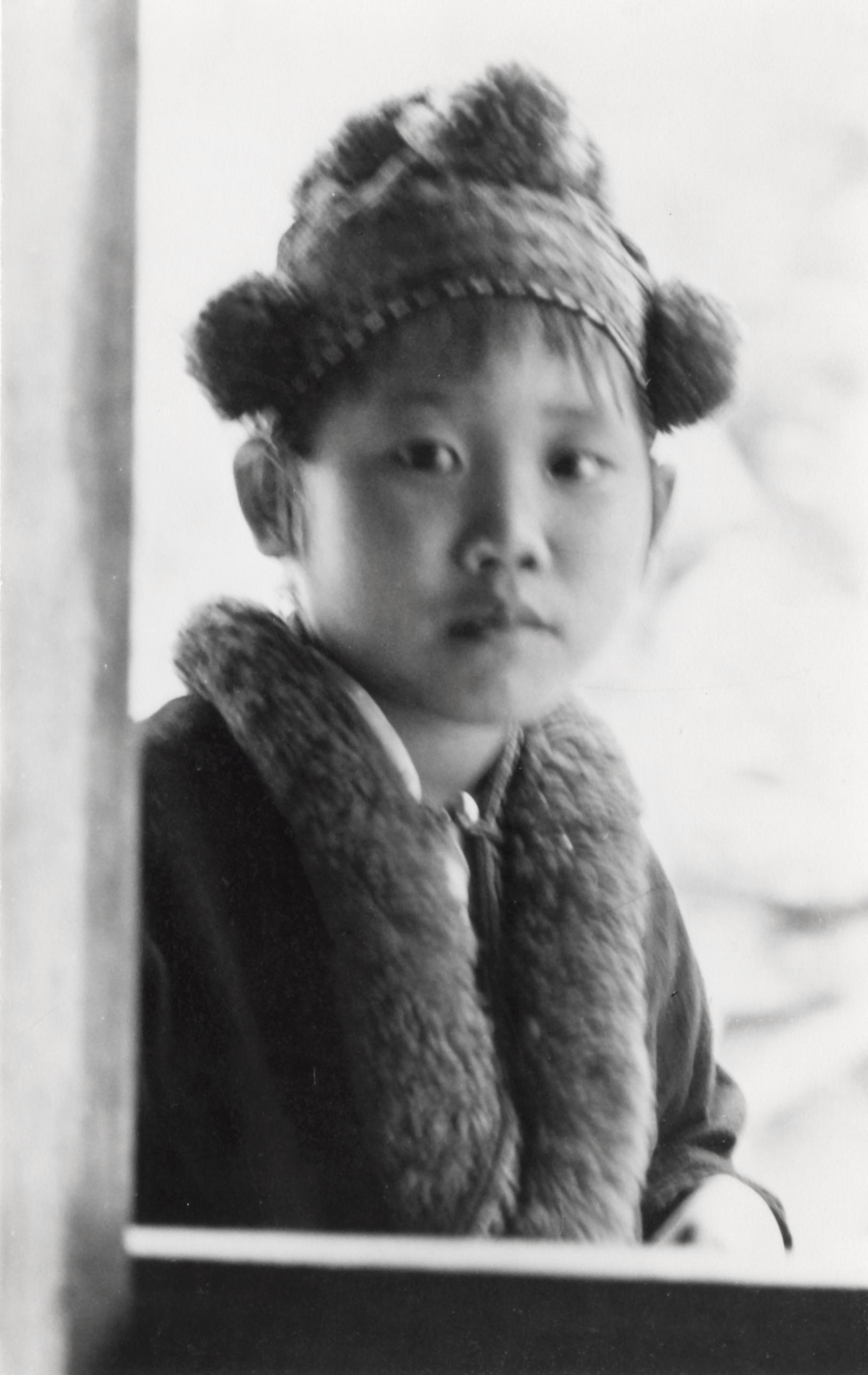 A Yao Iu Mien Girl In Traditional Dress In Houa Khong Province Uwdc Uw Madison Libraries