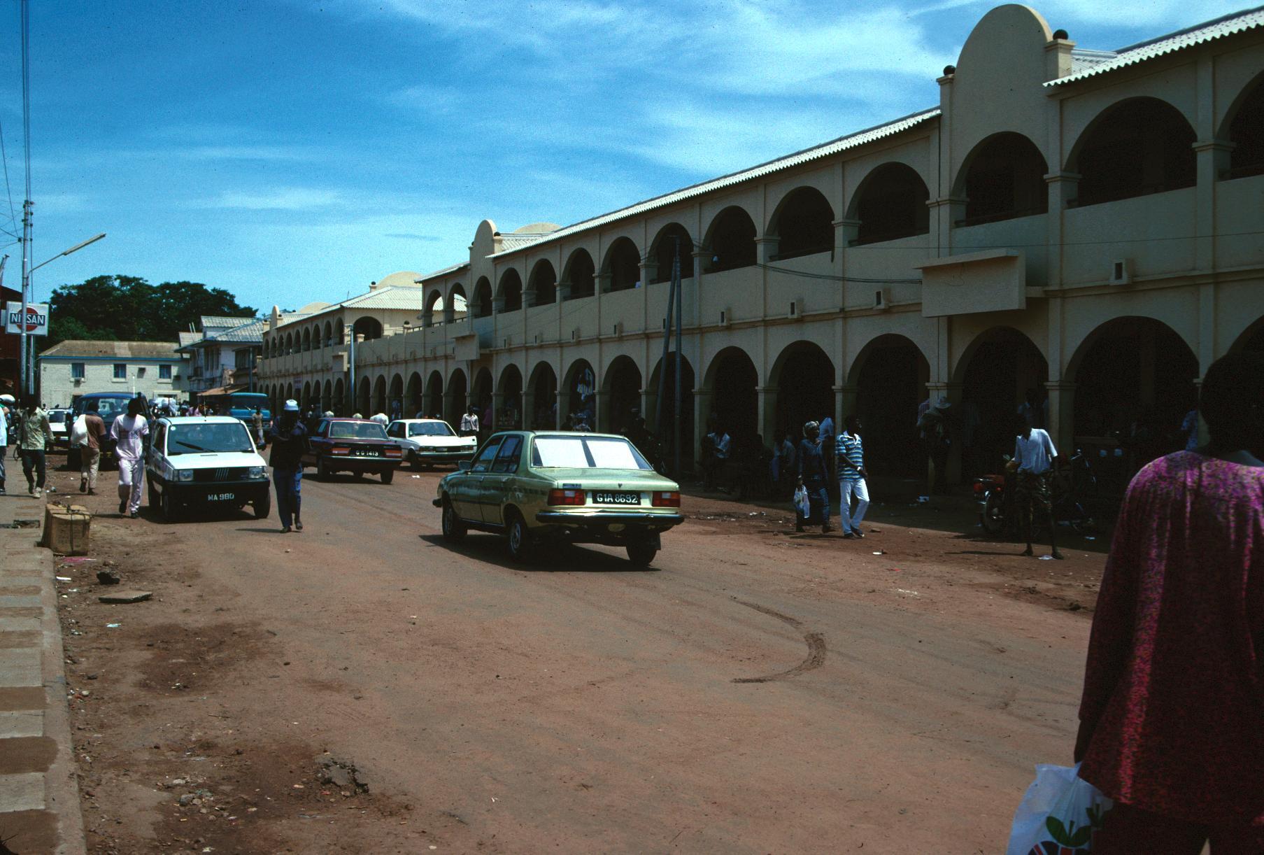 Entrance to Albert's Market in Banjul