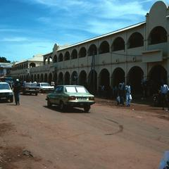 Entrance to Albert's Market in Banjul